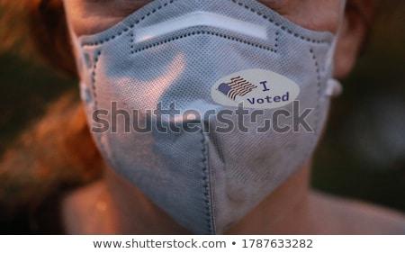 demokrata · republikánus · szavazó · választás · szimbólum · amerikai - stock fotó © lightsource