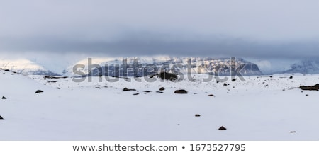 Impressive volcano mountain landscape in Iceland Stock photo © kb-photodesign