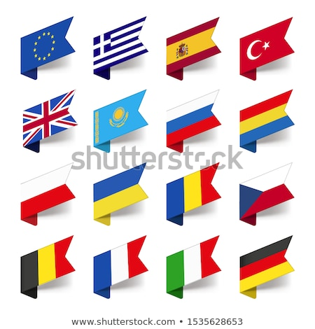united kingdom and european union symbol and badges stock photo © sarts