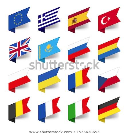 Egyesült Királyság európai szövetség szimbólum jelvények zászló Stock fotó © SArts
