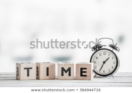 time to learn with bell stock photo © sdcrea