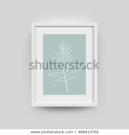 a4 paper photo icon vertical stock photo © romvo