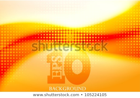 Stock photo: abstract artistic line heat wave