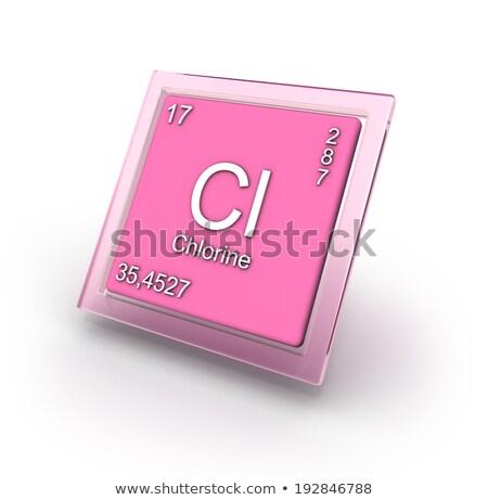 químico · elemento · informação · escolas · tecnologia - foto stock © carenas1