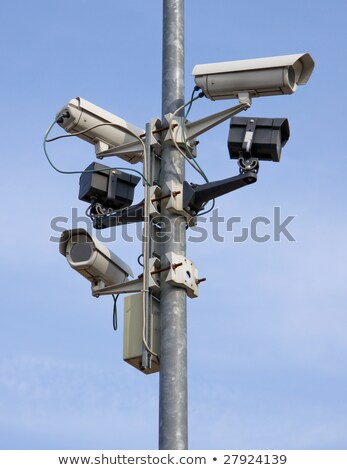 Full circuit CCTV camera Stock photo © stevanovicigor