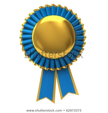 Gold Security Winner Laurel Wreath Medal Stock photo © Krisdog