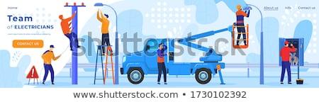 afişler · işçiler · farklı · adam · inşaat · erkekler - stok fotoğraf © matt_post
