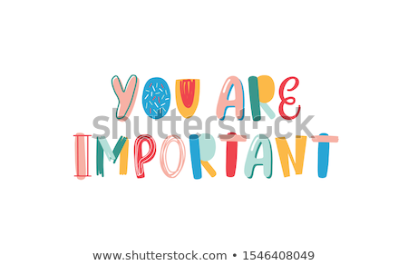 What is Important to You in Multicolor. Doodle Design. Stock photo © tashatuvango