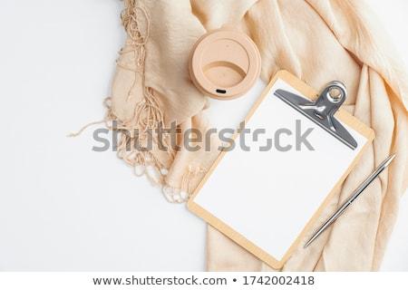 felmérés · lista · kéz · csekk · osztályzat · zöld - stock fotó © stevanovicigor