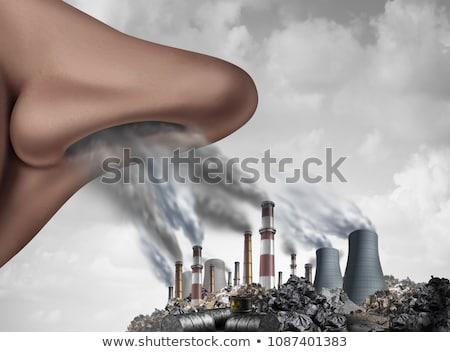 дыхание · болезнь · медицинской · болезнь · носа - Сток-фото © lightsource