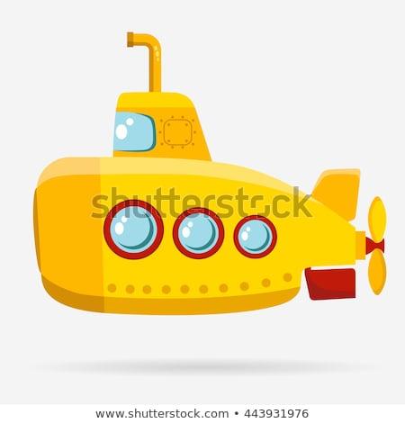 желтый подводная лодка расплывчатый морем технологий окна Сток-фото © Valeo5