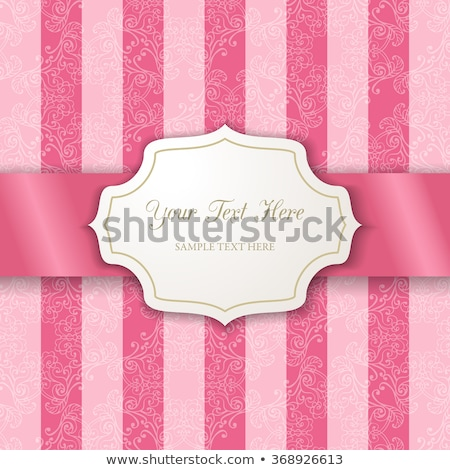 Candy Sweets Frame Background Sign Stock photo © Krisdog