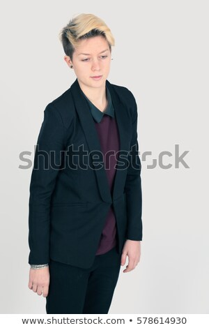 Jacket Short pants men_alcohol Stock photo © toyotoyo