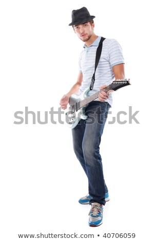 Cool · рок · катиться · человека - Сток-фото © feedough