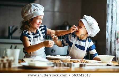мало · мальчика · Рождества · Cookies · Cute - Сток-фото © anna_om