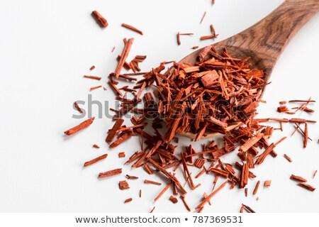 piezas · cuchara · de · madera · blanco · medicina · planta · indio - foto stock © madeleine_steinbach