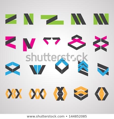 green z letter logo square icon vector Stock photo © blaskorizov