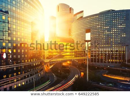 visiteurs · affaires · centre · bâtiment · ville · verre - photo stock © hsfelix