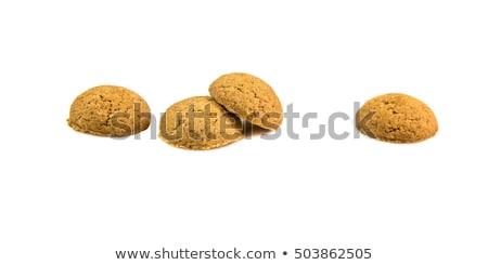 Сток-фото: имбирь · орехи · изолированный · белый · типичный