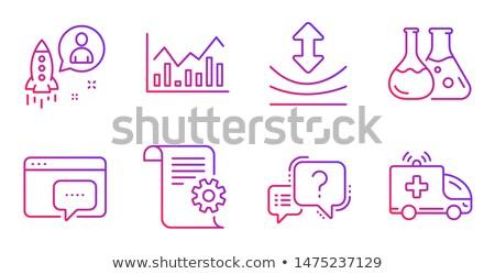 kérdés · lekérdezés · ikon · szimbólum · néhány · kérdőjel - stock fotó © kyryloff