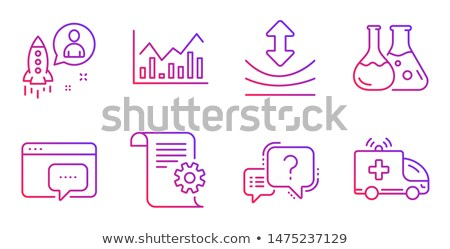 question mark help speech bubble symbol faq sign vector illustration isolated on white background stock photo © kyryloff