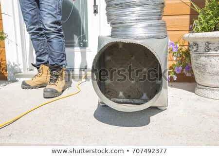 szellőzés · takarító · felszerlés · csövek · csövek · szerszámok - stock fotó © lopolo