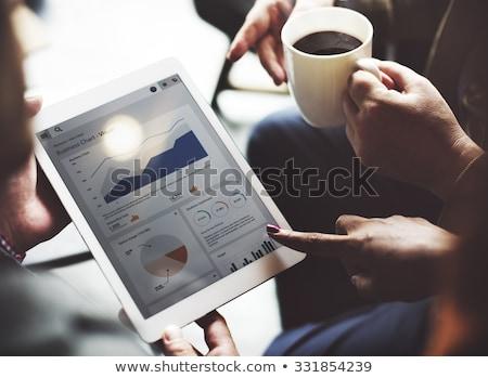 digitális · marketing · stratégia · leszállás · oldal · vezetőség · profi - stock fotó © robuart