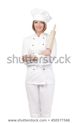 Padeiro restaurante cozinha cozinhar profissão pessoas Foto stock © dolgachov