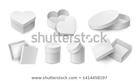 heart shaped paper box stock photo © homydesign