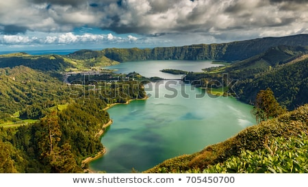 Lagoa das Sete Cidades, Azores, portugal  Stock photo © ruigsantos