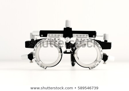 trial frame for eye testing Stock photo © imarin