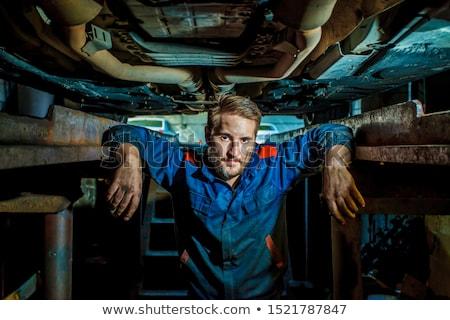 Portrait mécanicien main homme travaux Emploi Photo stock © photography33