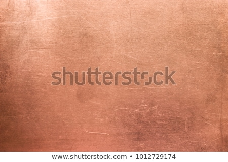 Stock photo: grunge copper background