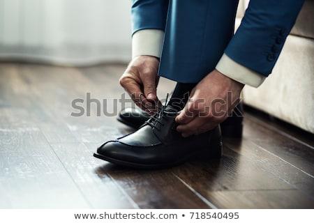 man getting ready stock photo © arenacreative