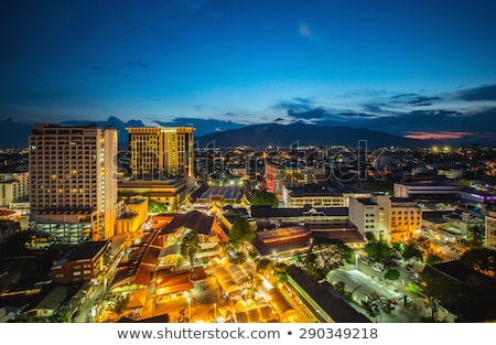 View of Chiang Mai city Stock photo © timbrk