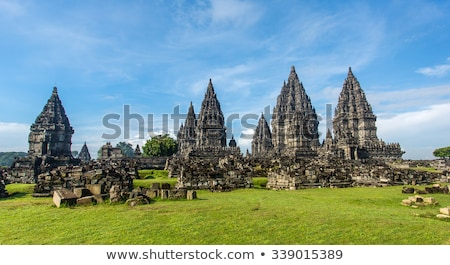Tempel java Indonesië asia indonesisch bouw Stockfoto © travelphotography