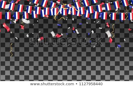 bandeira · França · balão · forma · crianças · mundo - foto stock © experimental