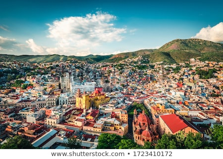 Photo stock: Colonial · ville · Mexique · 17 · monde · patrimoine