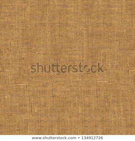 Beige fabric - seamless tileable texture stock photo © mobi68