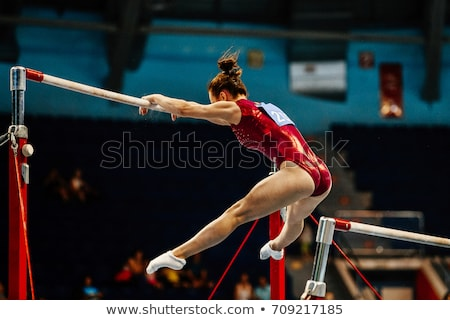 женщины гимнаст женщины спорт спортзал ног Сток-фото © photography33