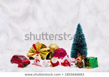christmas · cookies · kerstmis · boom · sneeuwvlok - stockfoto © artush