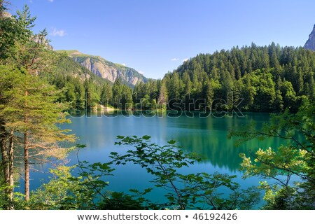 Göl hdr yaz görmek İtalya fotoğraf Stok fotoğraf © Antonio-S