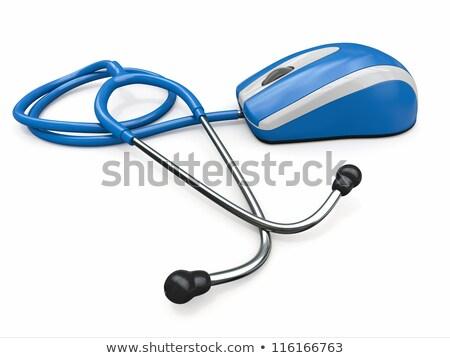 farmacêutico · hospital · farmácia · computador - foto stock © redpixel