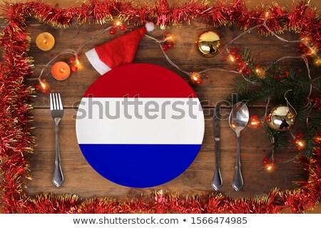 新しい オランダ語 パスポート 白 オフィス セキュリティ ストックフォト © compuinfoto