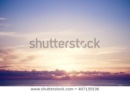 Tall Ship in Tropical Sunset Stock photo © AlienCat