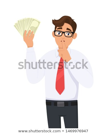 concept of silence for the money Stock photo © Mikko