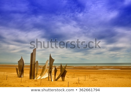 memorial omaha beach stock photo © smuki