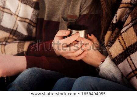 Freddo reciproca relazioni immagine amore triangolo Foto d'archivio © grechka333