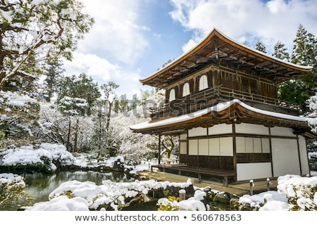 Silver Pavilion at Ginkakuji Stock photo © searagen