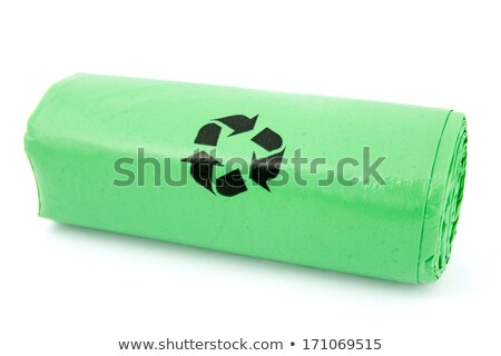 Green garbage bio bags Stock photo © Grazvydas